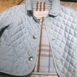 Super cute  Burberry baby jacket  9-12 months